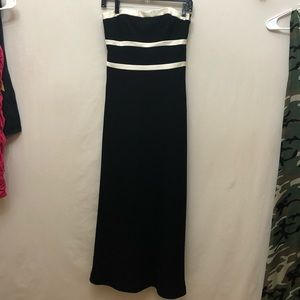 Floor length Ann Taylor dress